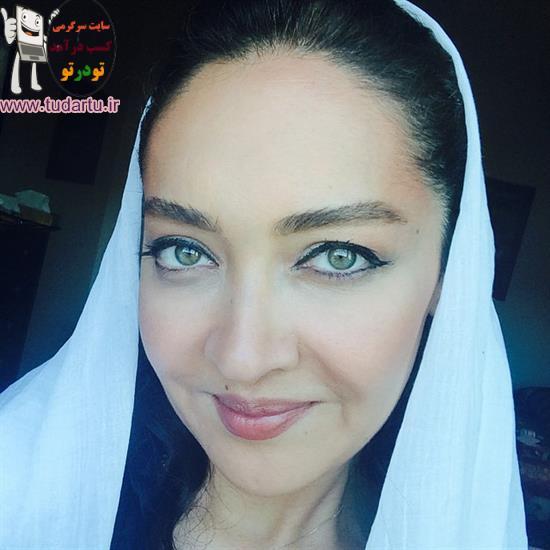 عکس جدید نیکی کریمی با چشم های زیباش