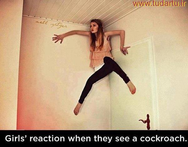 عکسهای خنده دار دخترها