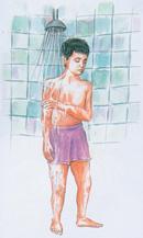 احکام غسل | طریقه غسل گرفتن