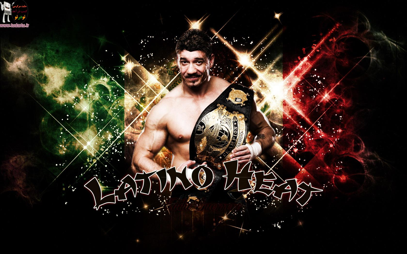 والپیپر زیبا از Eddie Guerrero کشتی کج